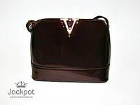 Сумка клатч в стиле Louis Vuitton бордовая