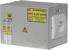 Ящик з понижуючим трансформатором ЯТП-0,25 380/24-3 36 УХЛ4 IP30 ИЭК