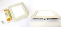 Светильник светодиодный 3W квадратный встраиваемый 180Lm 4000-4500/2700-3500 K 84*68*25 mm