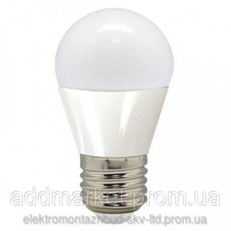 Лампа LED 7 вт 4200K (3000К, 6400К) E27 шар