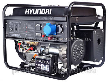 Бензиновый генератор Hyundai HHY 7000FE ATS, фото 2