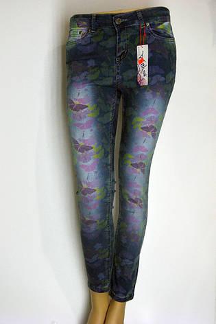 Жіночі джинси з принтом Vishe, фото 2