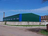 Строительство складского помещения 18*48*6.