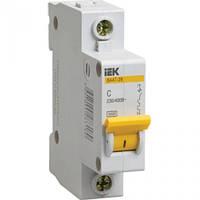Автоматичний вимикач ВА47-29 1P 10A 4,5кА х-ка B IEK