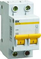 Автоматичний вимикач ВА47-29 2P 20A 4,5кА х-ка B IEK