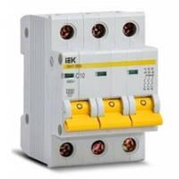Автоматичний вимикач ВА47-29 3P 16A 4,5кА х-ка C IEK