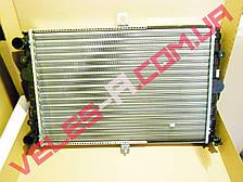 Радиатор охлаждения (основной) Сенс 1.3, Ланос 1.4 без кондиционера АМЗ