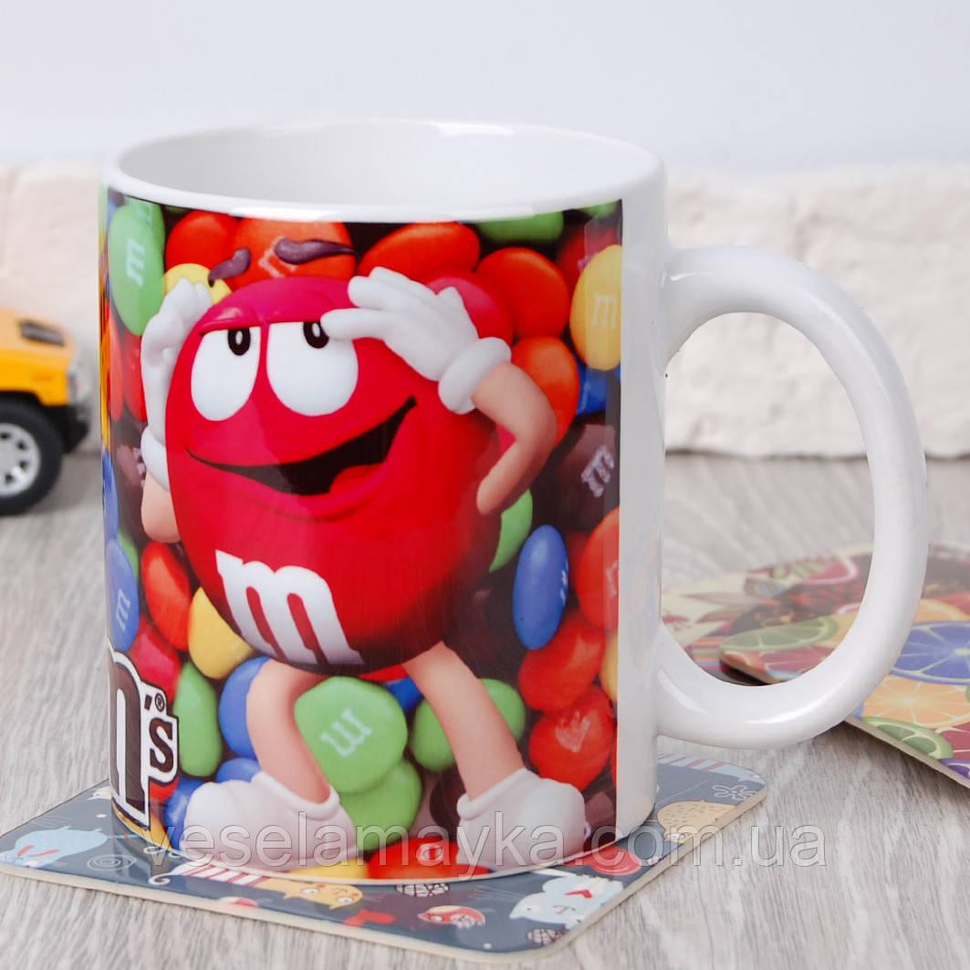 Чашка m&m's (емендемс)