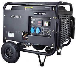 Генератор бензиновый Hyundai HY 7000SE, фото 3