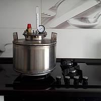 Автоклав для домашнего консервирования 5 литровых (или 8 банок 0,5)Нержавейка, фото 1