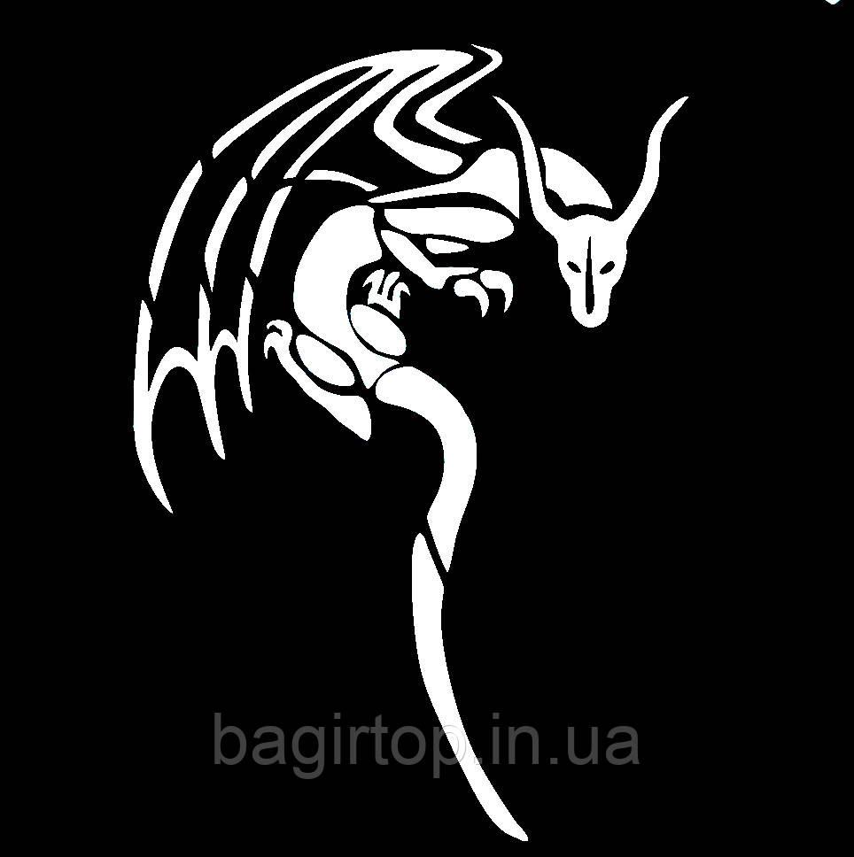 Виниловая наклейка - Дракон(16) (от 20х10 см)