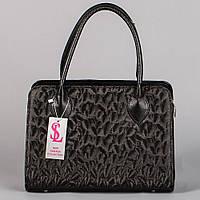 Аккуратная женская модельная черная сумочка 3D art. 1346-3D