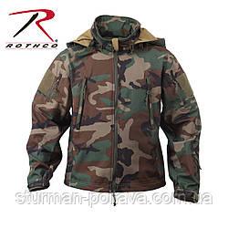 Куртка тактична ОРС (SOFT SHELL ) колір вудланд США