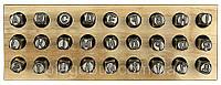 Клеймо Буква Английская высота шрифта - 3 мм
