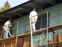Утепление фасада дома пенополиуретаном