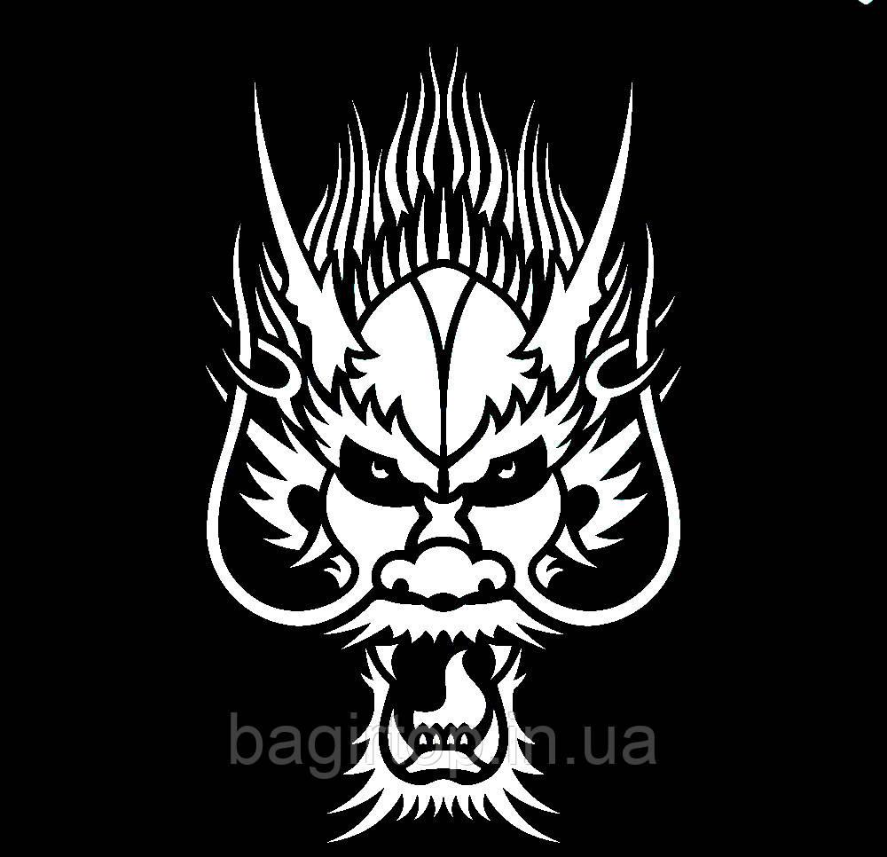 Виниловая наклейка - Дракон(38) (от 30х20 см)