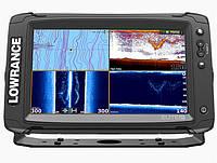Lowrance Elite-9Ti - эхолот с GPS для рыбалки Лоуренс Элит 9 с сенсорным экраном