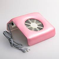 Настольная маникюрная вытяжка (пылесос), мини, розовая, фото 1
