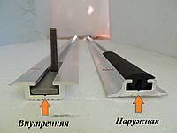 Салазка алюминиевая для крепления сидений
