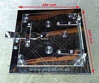 Дверка сажетруска нержавейка 150х150мм., фото 1