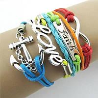 Красивые браслеты для девочек 7 цветов