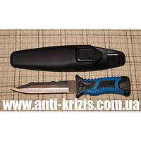 Нож для дайвинга 210 A, чехол с фиксирующим механизмом+крепление на ногу