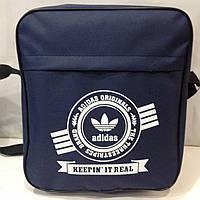 Спортивная сумка через плечо с логотипом Adidas  оптом