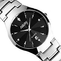 Мужские кварцевые часы NARY METAL (Black)