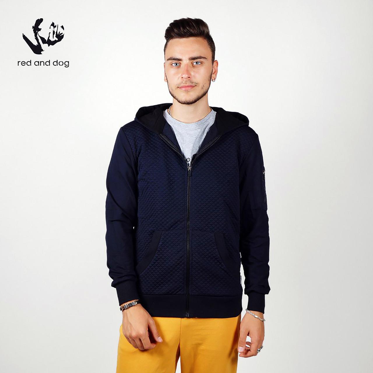 Зиппер мужской RaD Hound темно-синее XL