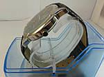 Мужские часы на кожаном ремешке с датой, фото 2