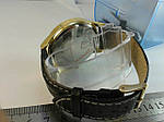 Мужские часы на кожаном ремешке с датой, фото 4