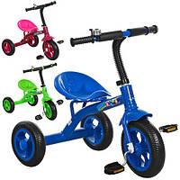 Триколісний велосипед Bambi M 3252 EVA