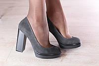 Туфли элитные из натуральной замши