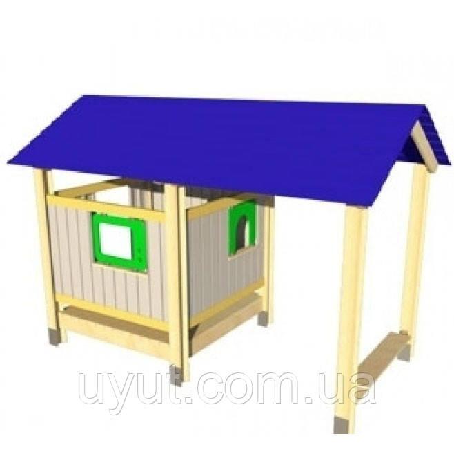 Игровой домик сверандой