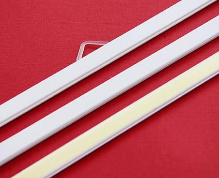Планки пластиковые, 380 мм. уп/100 шт.