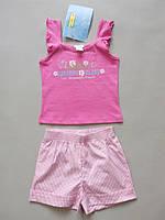 Комплект детской одежды маечка и шортики от jbc 9 12 мес. рост 74 80