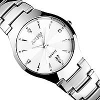 Мужские кварцевые часы NARY METAL (White)