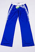 Спортивные штаны женские на резинке для бега синие reecе L