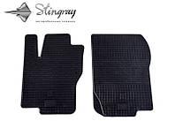 Коврики резиновые в салон Mercedes W164ML c 2005 передние (2шт) Stingray