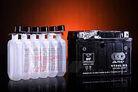 Аккумулятор 4А/12V заливной с кислотой OUTDO