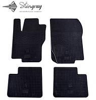 Коврики резиновые в салон Mercedes GLE c 2014 (4шт) Stingray