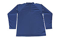 Футболка CoolMax полиции Великобритании, длинный рукав, синяя, б/у
