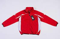 Детская спортивная куртка красная sоls