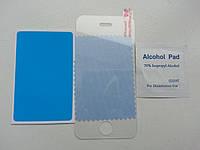 Защитное противоударное стекло на дисплей iPhone 4/4S