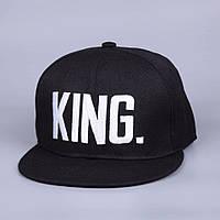 Кепка снепбек King (Король) з прямим козирком, фото 1