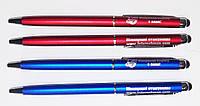 Ручки с стилусом под нанесение логотипа
