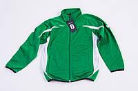 Детский спортивный костюм зеленый sols