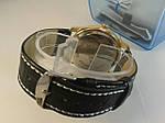 Мужские часы на кожаном ремешке с датой rolex, фото 3
