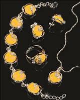 Набор украшений из Янтаря - символ счастья и здоровья
