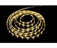 Светодиодная лента (Led) влагостойкая 5050-60-65WH 72W Luxel теплый белый (5м)